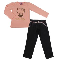 Conjunto-Blusa-e-Calca-de-Sarja---Salmon---Hello-Kitty