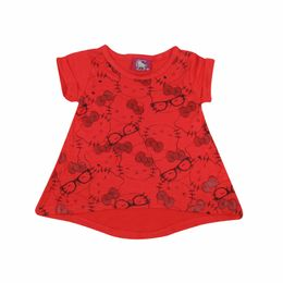 Blusa-Bata-Estampada---Coral---Hello-Kitty