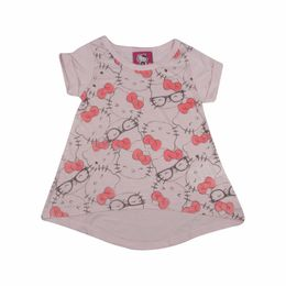 Blusa-Bata-Estampada---Rosa---Hello-Kitty