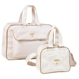 Kit-com-2-Bolsas---Dreams---Luana---Classic-Nylon-Golden-Off-White---Masterbag