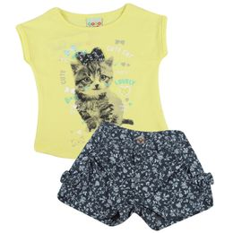Conjunto-Blusa-e-Shorts-Jeans-Cute-Cat---Amarelo---Have-Fun
