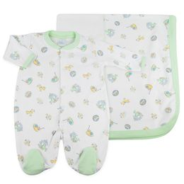 Kit-Parquinho-2-Pecas---Branco-com-Verde---Baby-Fashion