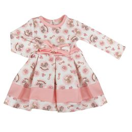 Vestido-ML-Estampa-Poney---Rosa---Petit-Cherie