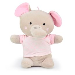 Elefante-Camiseta-Listrada---Cinza-com-Rosa---Zip-Toys