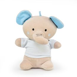 Elefante-Camiseta-Listrada---Cinza-com-Azul---Zip-Toys