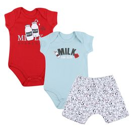 Kit-Body-e-Shorts-Milk---Azul-com-Vermelho---Have-Fun-G