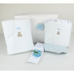 Kit-Presente-Urso-Little-Prince-Azul-