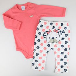 Conjunto-Body-e-Calca-Fio-40-Fun-Cachorrinha---Melancia---Piu-Piu